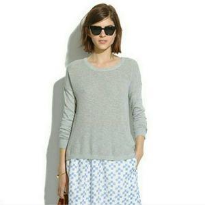Madewell Cobblewalk Sweater
